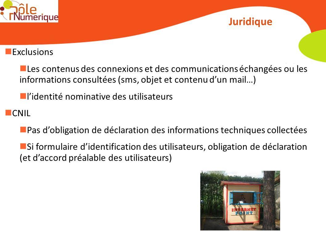Juridique Exclusions Les contenus des connexions et des communications échangées ou les informations consultées (sms, objet et contenu dun mail…) lide