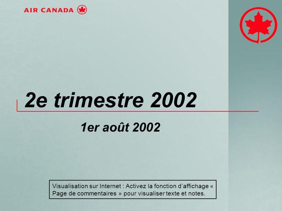 2e trimestre 2002 1er août 2002 Visualisation sur Internet : Activez la fonction daffichage « Page de commentaires » pour visualiser texte et notes.