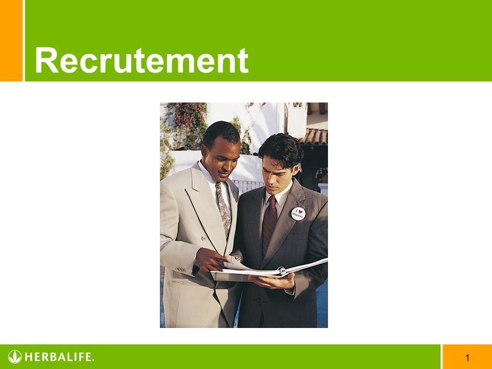 1 Recrutement
