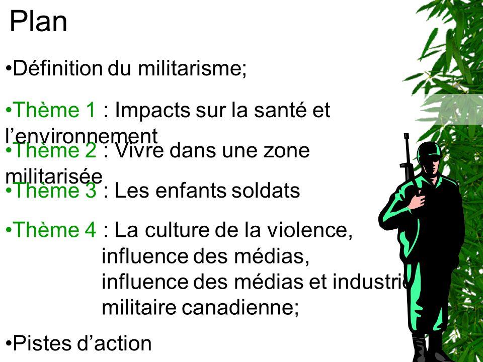 QUEST-CE QUE LE MILITARISME ?