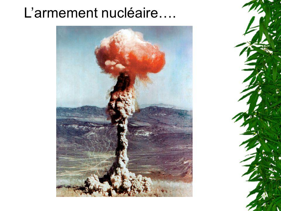 Larmement nucléaire a été mis au point au Etats-Unis par le célèbre physicien allemand Albert einstein.