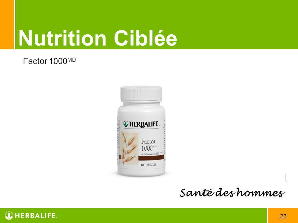 23 Nutrition Ciblée Santé des hommes Factor 1000 MD