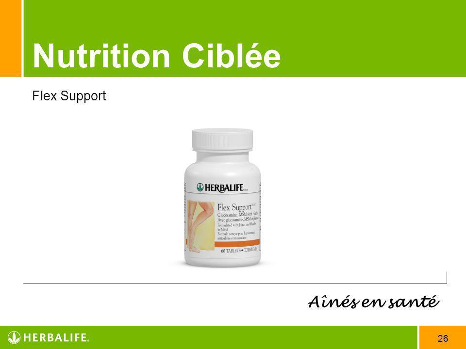 26 Nutrition Ciblée Aînés en santé Flex Support