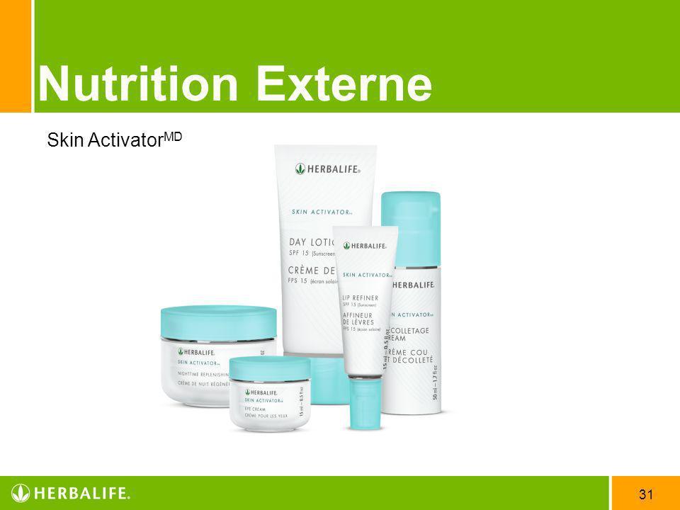 31 Nutrition Externe Skin Activator MD