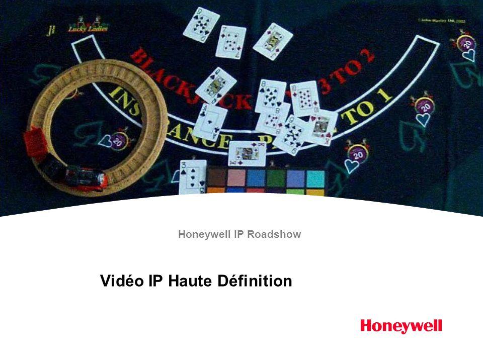 Vidéo IP Haute Définition Honeywell IP Roadshow