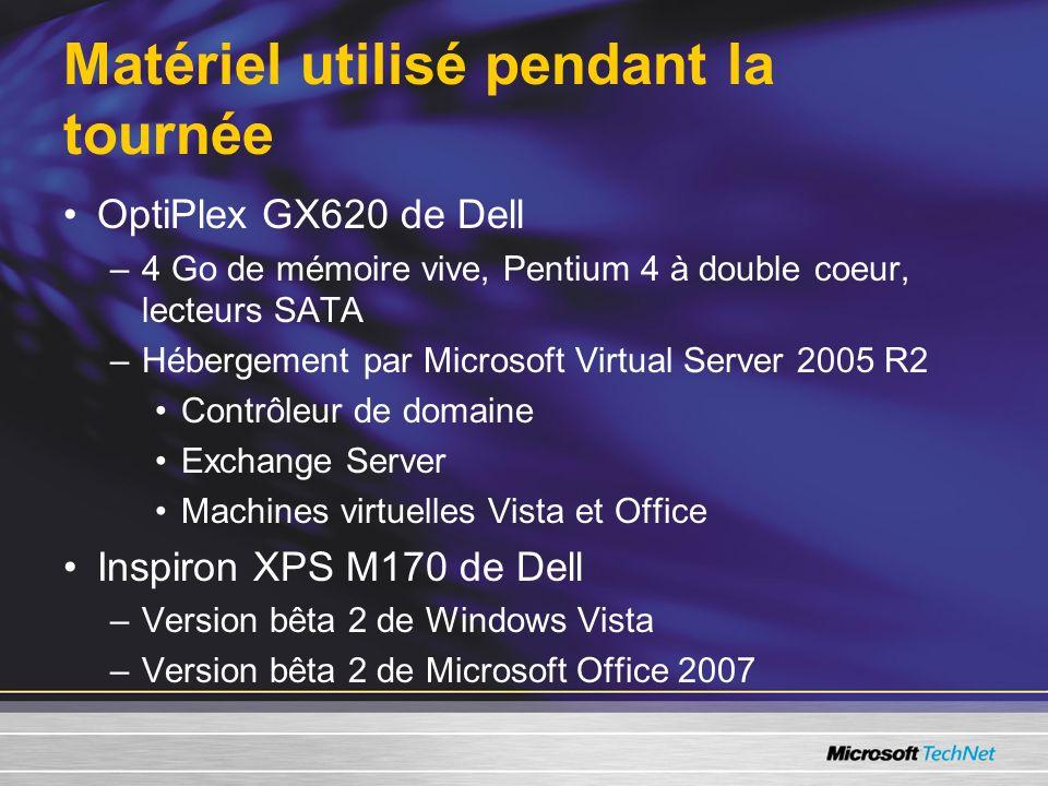 Appel à laction Demeurez branché grâce à nos blogues Soyez à jour grâce au bulletin TechNet Flash Inscrivez-vous à Beta Experience –Installez les versions bêta de Windows Vista et de Microsoft Office System 2007 et amusez-vous ou travaillez avec elles