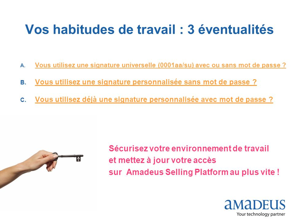 © 2009 Amadeus France Services A.
