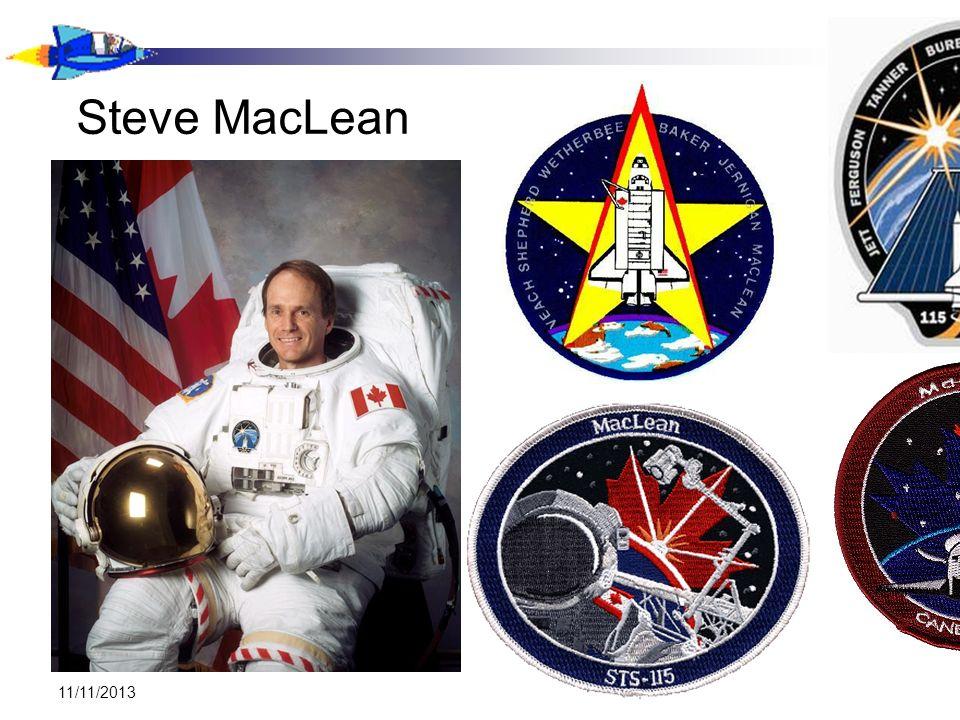 11/11/2013 Steve MacLean