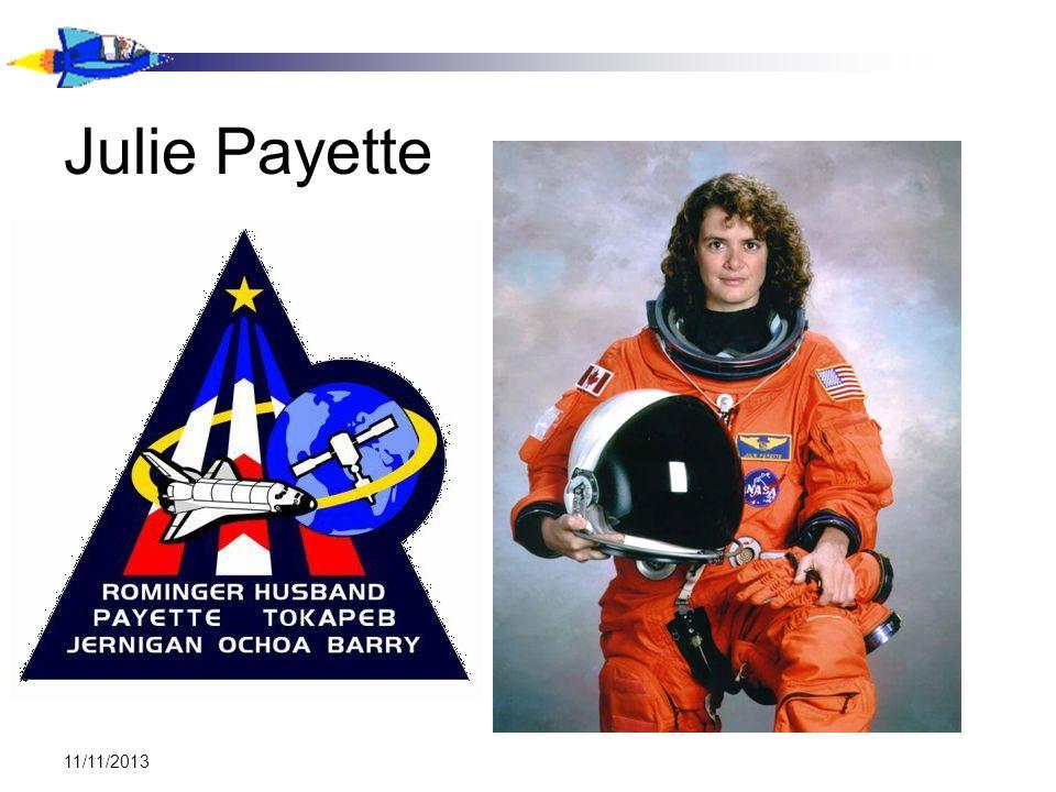 11/11/2013 Julie Payette
