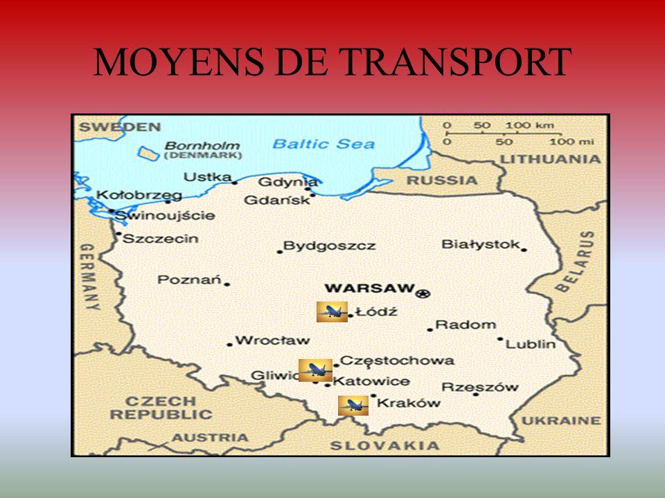 MOYENS DE TRANSPORT