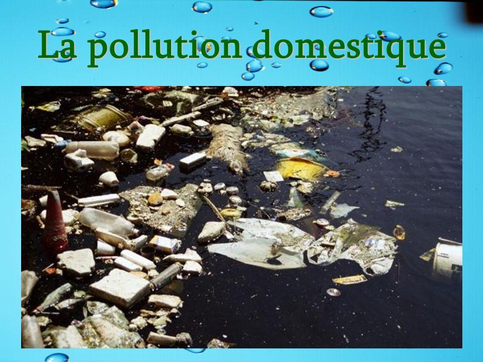 La pollution domestique