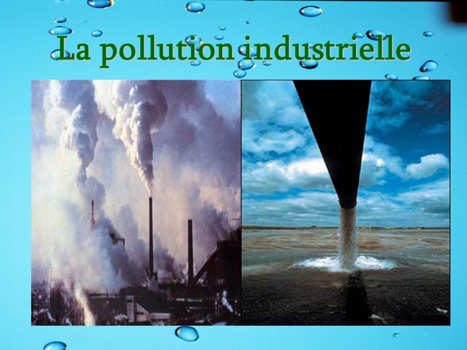 La pollution industrielle
