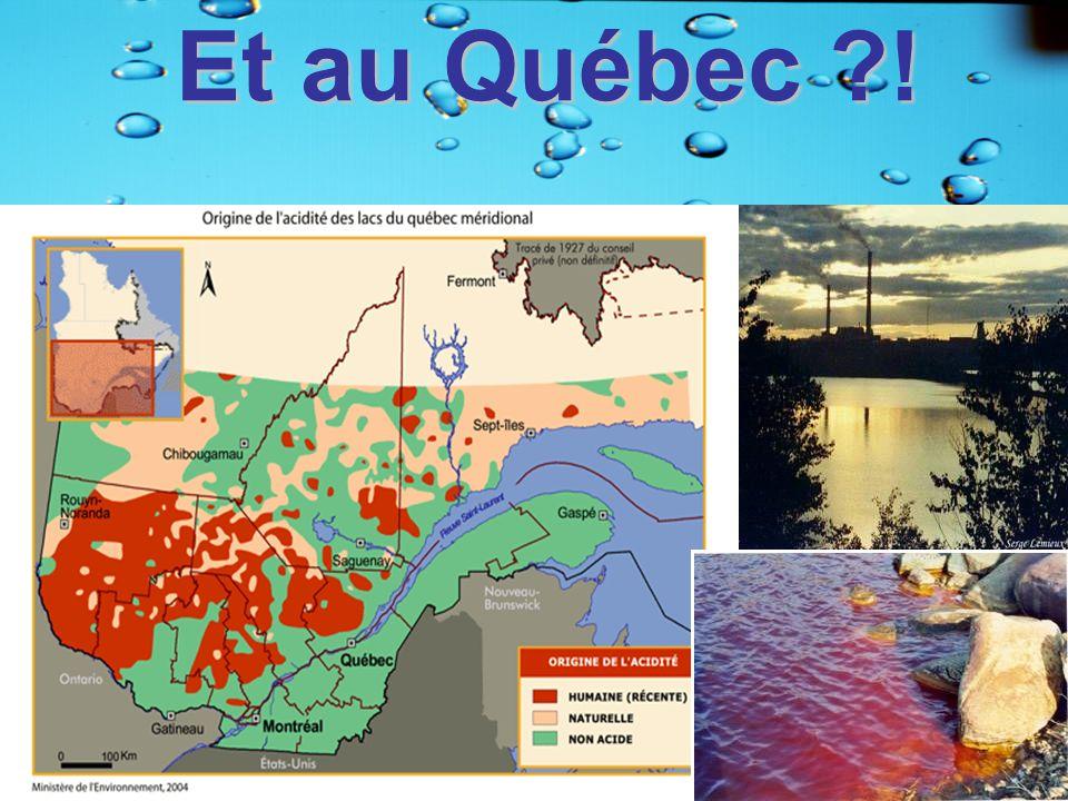 Et au Québec ?!