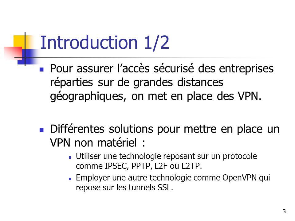 4 Introduction 2/2 IPSEC simpose dans ce domaine en plein développement, mais il souffre dun défaut majeur.