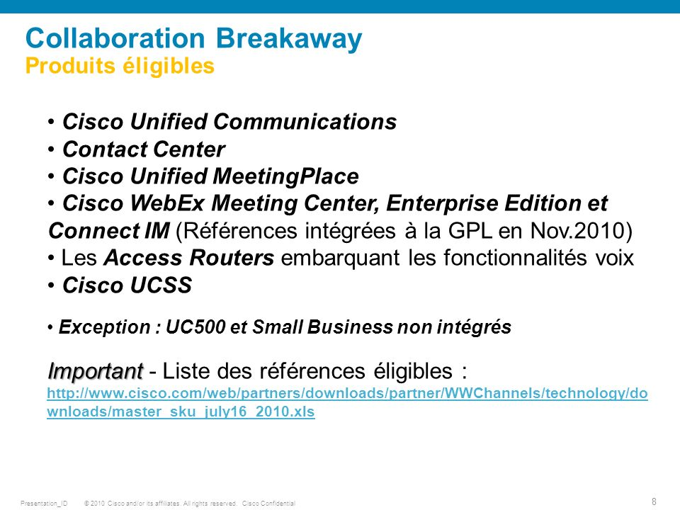 © 2010 Cisco and/or its affiliates.