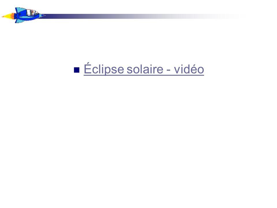 Durant une éclipse lunaire, vous pouvez voir le mouvement de la lune dans l ombre de la Terre...