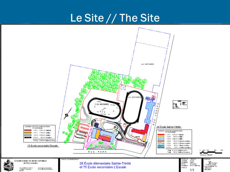 9 Le Site // The Site