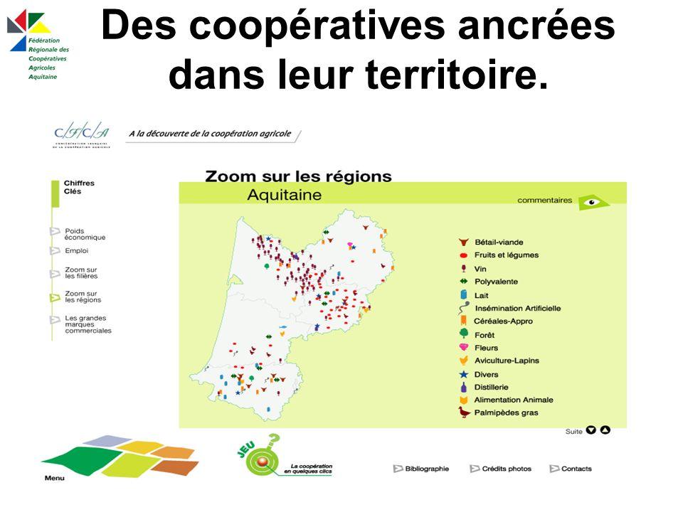214 Coopératives en Aquitaine