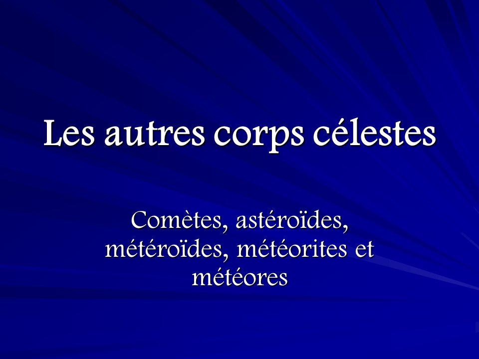 Météore Un météore est une « étoile filante » - cest produit lorsquune météroïde entre dans latmosphère de la Terre.