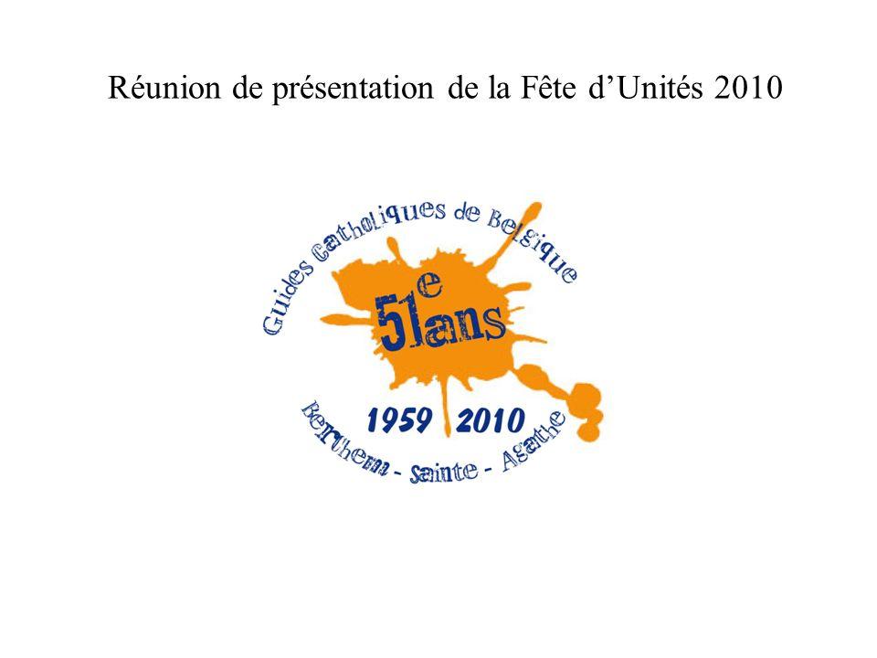 Réunion de présentation de la Fête dUnités 2010