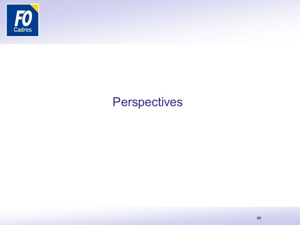 40 Perspectives