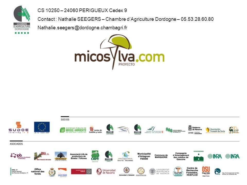 CS 10250 – 24060 PERIGUEUX Cedex 9 Contact : Nathalie SEEGERS – Chambre dAgriculture Dordogne – 05.53.28.60.80 Nathalie.seegers@dordogne.chambagri.fr