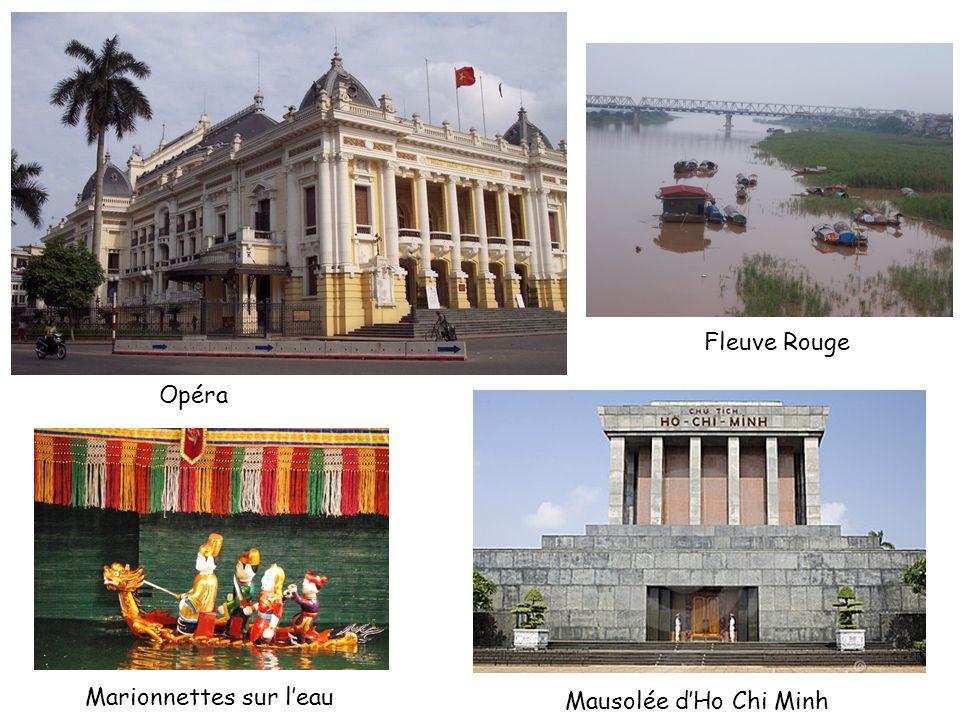 Opéra Marionnettes sur leau Fleuve Rouge Mausolée dHo Chi Minh