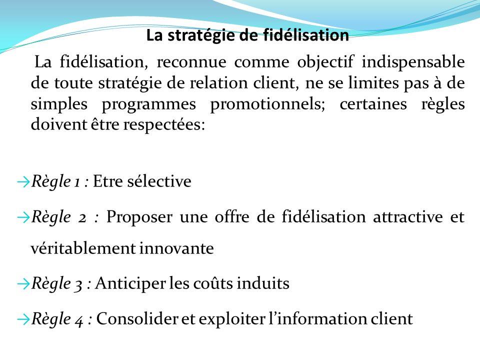 La fidélisation, reconnue comme objectif indispensable de toute stratégie de relation client, ne se limites pas à de simples programmes promotionnels;