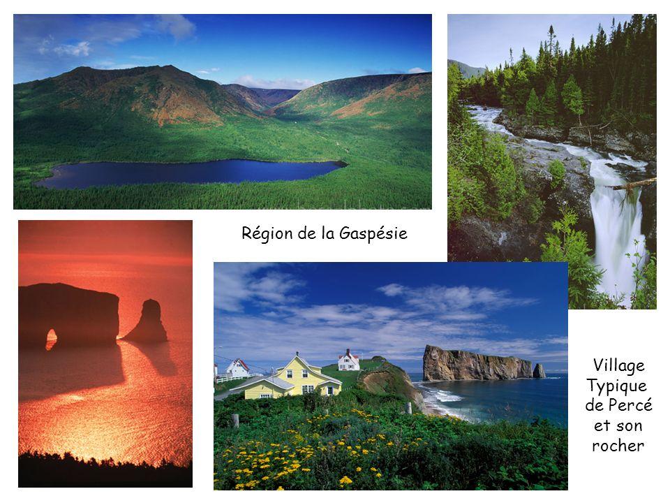 Région de la Gaspésie Village Typique de Percé et son rocher