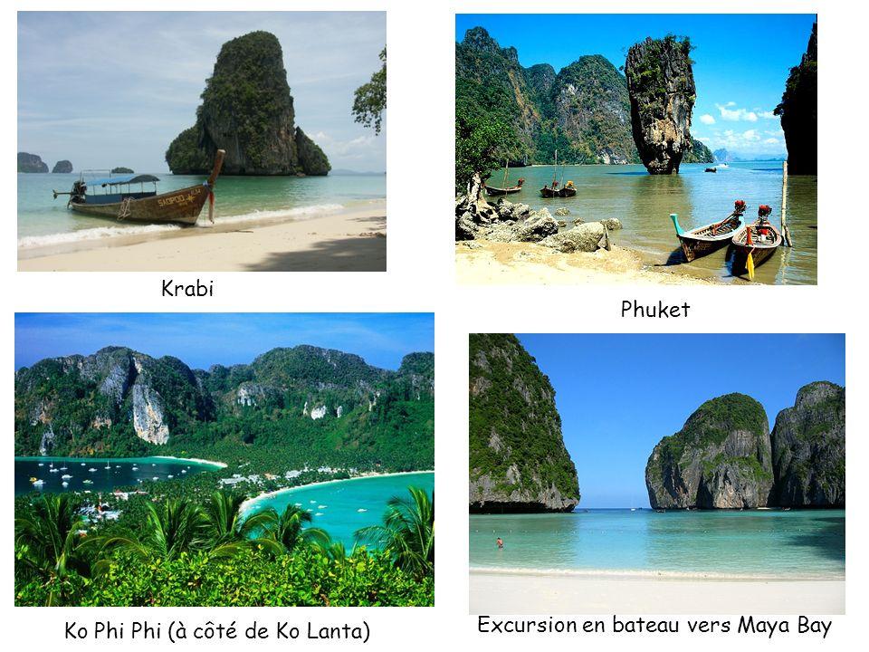 Krabi Ko Phi Phi (à côté de Ko Lanta) Excursion en bateau vers Maya Bay Phuket