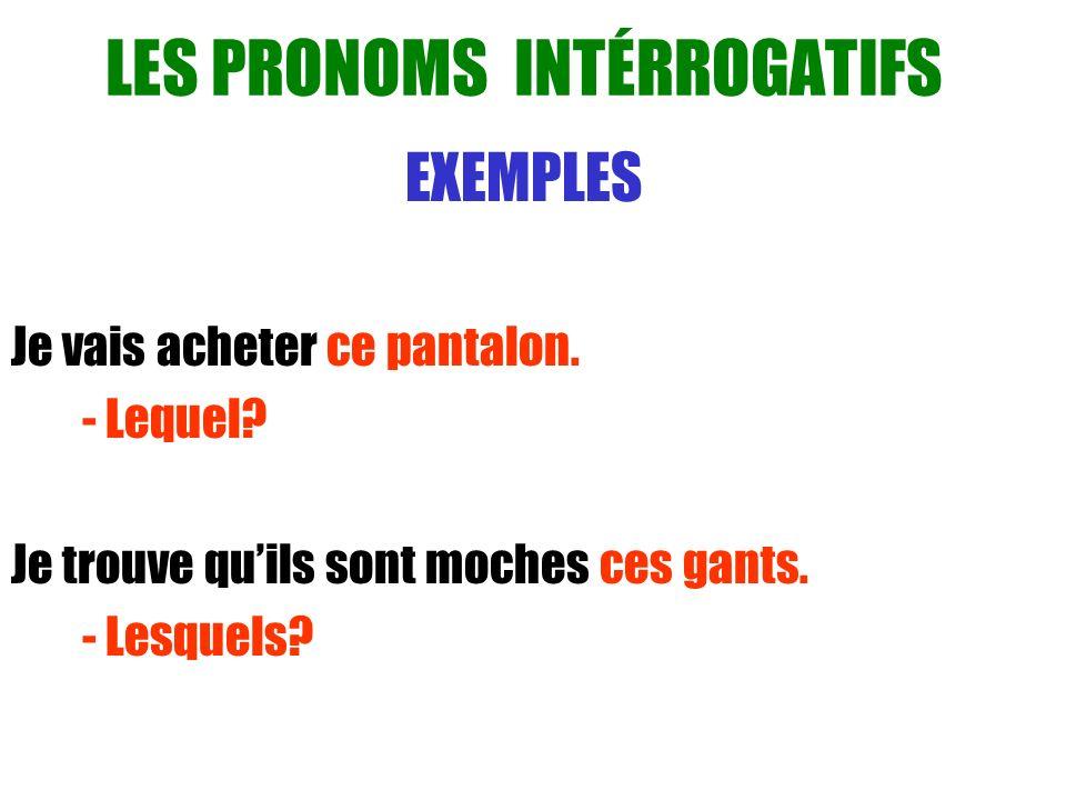 LES PRONOMS DOBJET INDIRECT LUI ET LEUR Ils suivent les mêmes règles qui les pronoms dobjet directes.