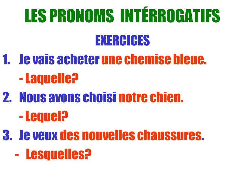 LE PRONOM «EN » Le pronom « en » remplace des objets qui commencent avec du, de la, de l ou des.