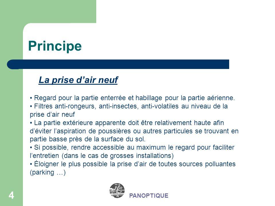 15 Exemples concrets de réalisation PANOPTIQUE Collège en Haute Marne (52) Concentration en radon Entrée de puits18 Bq/m3 Sortie de puits9 Bq/m3 Local non ventilé62 Bq/m3 Mesures de la concentration en Radon