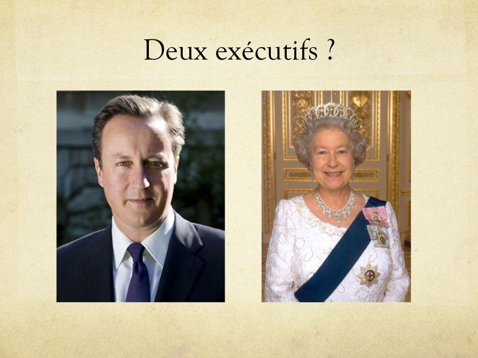 Deux exécutifs ?