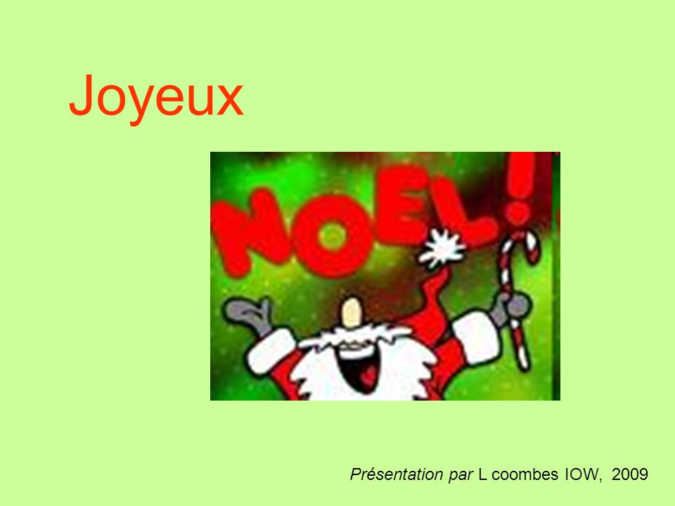 French children celebrate Christmas or le noël in many similar ways to us.