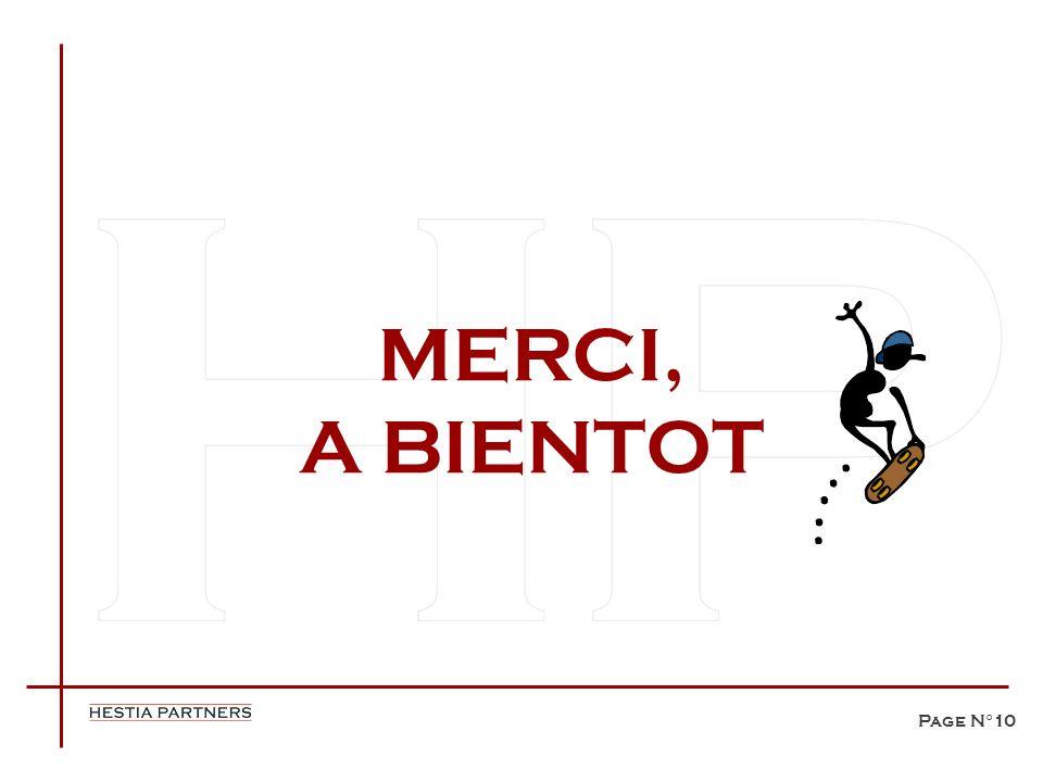 Page N°10 MERCI, A BIENTOT
