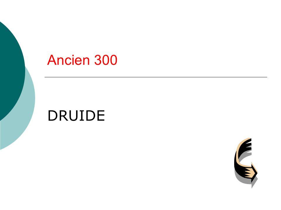 Ancien 300 DRUIDE