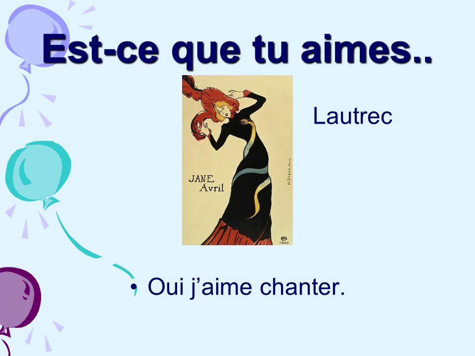 Jaime jouer aux cartes, mais je préfère manger et parler. Cézanne Cassatt