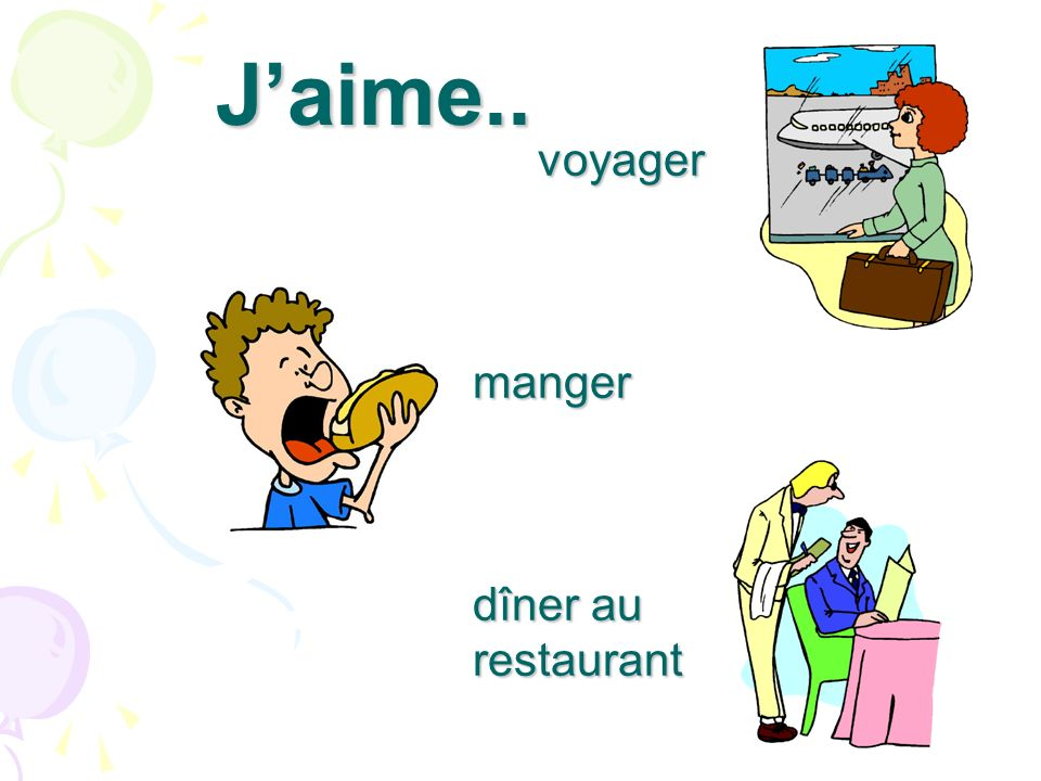 Jaime parler anglais hi espagnol hola français bonjour
