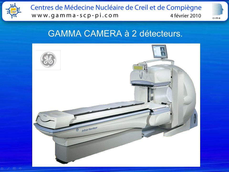 GAMMA CAMERA à 2 détecteurs.
