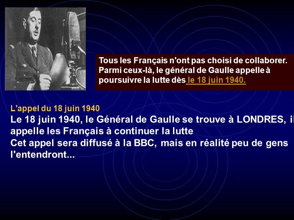 Le Marital Pétain et ses ministres dont Laval et Henriot ont entraîné notre pays dans la collaboration avec l'ennemi. Ils considèrent l'Allemagne comm