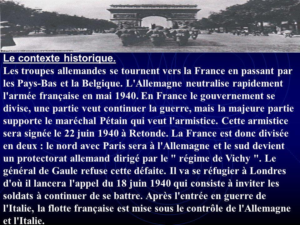 La France dans la deuxième guerre mondiale Loccupation