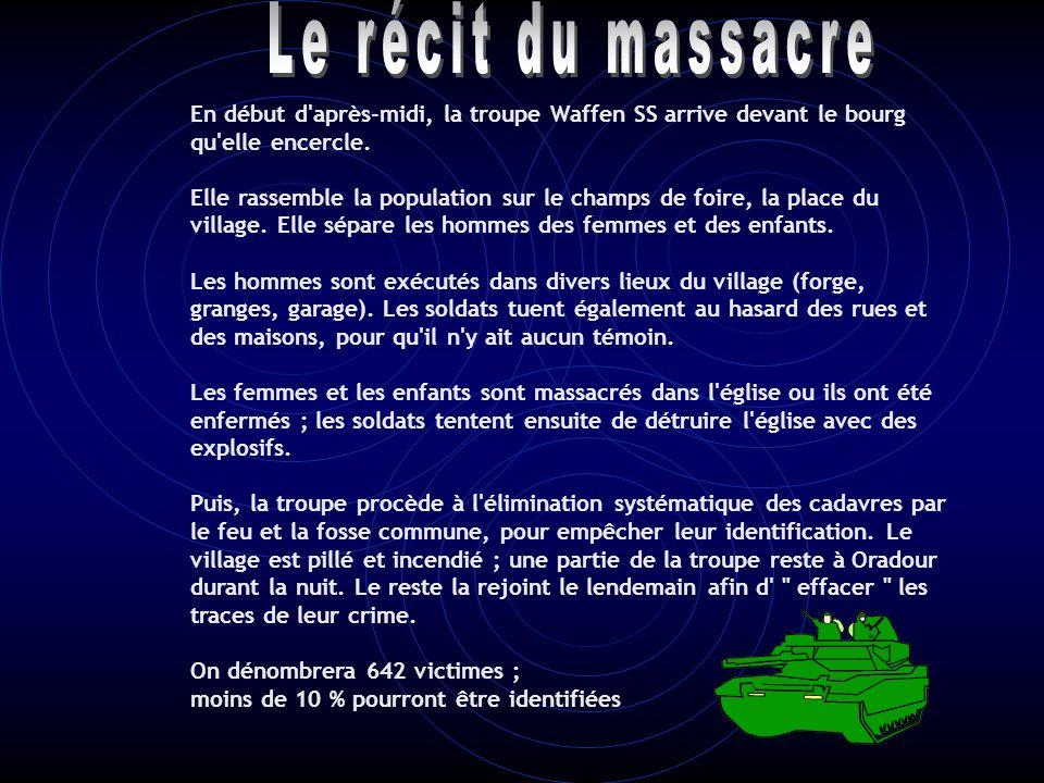 10 juin 1940: le martyre d'Oradour-sur-Glane
