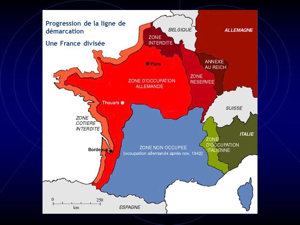 La France est anticommuniste, antisémite et antidémocratique. Le maréchal Pétain devient le chef de