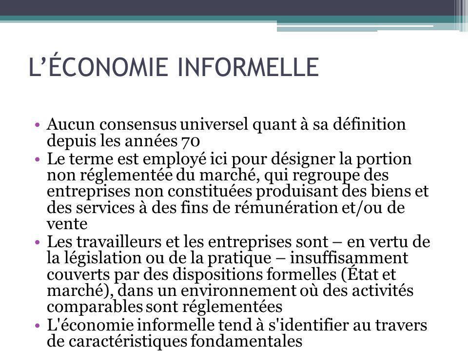Guide de discussion Dans nos pays, quels exemples témoignent du potentiel de l économie sociale à établir une passerelle entre l économie informelle et l économie formelle .