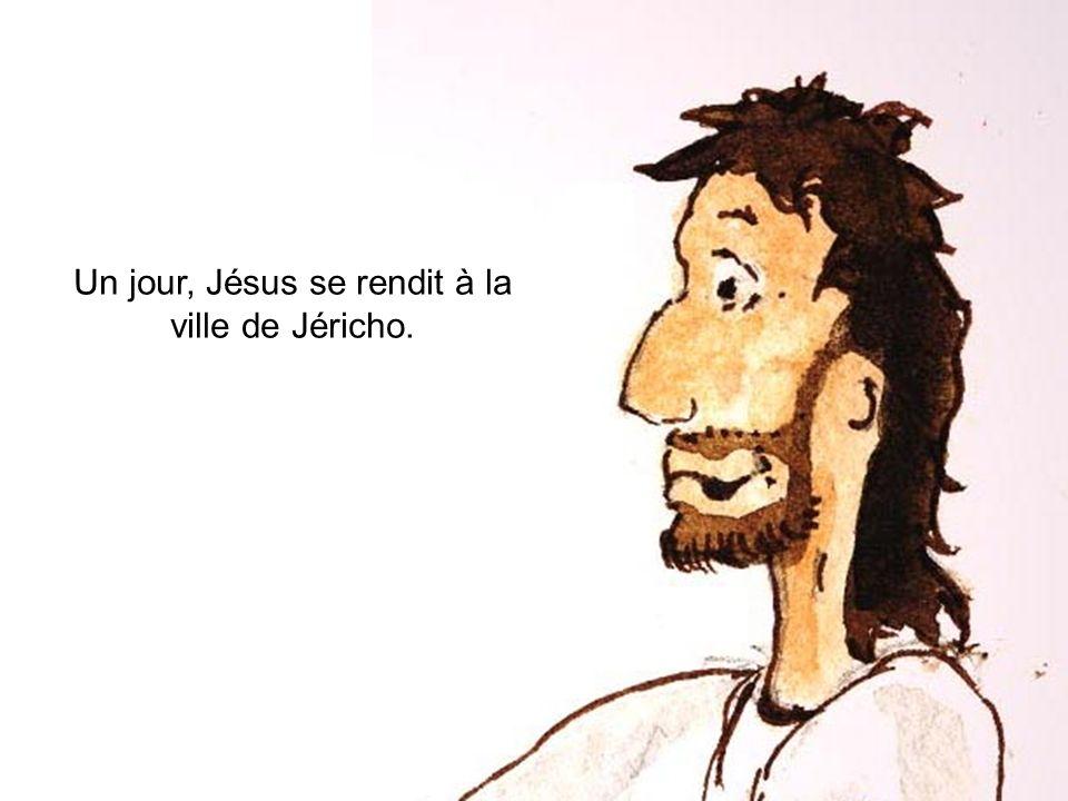 Un jour, Jésus se rendit à la ville de Jéricho.