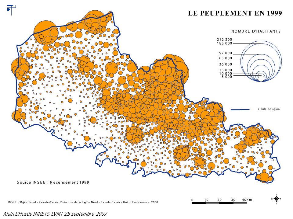 Alain LHostis INRETS-LVMT 25 septembre 2007 Mesurer laccessibilité Quel fonctionnement du système de transport est adapté au fonctionnement urbain métropolitain.