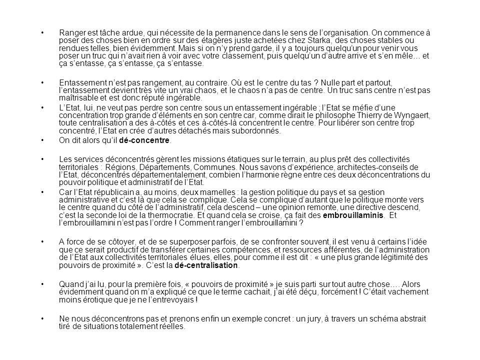 « Le rôle de lEtat dans la décentralisation », voici le beau thème que lon ma proposé dintroduire devant vous.