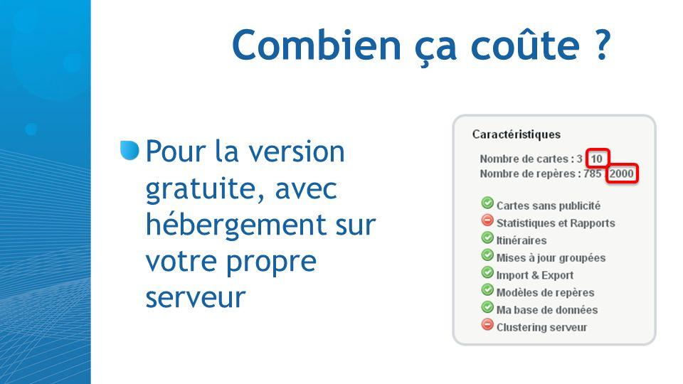 Côté interface…