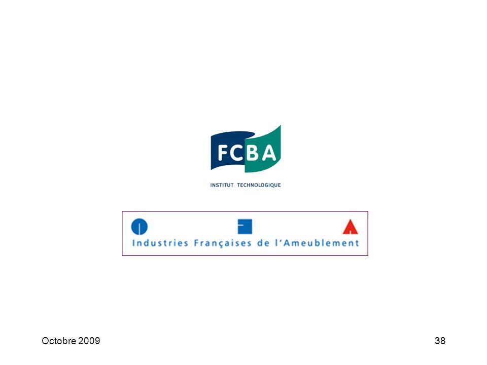 Octobre 200937 « Fiche n°7 Mobilier Objectifs cibles : Pour 2010 : atteindre 100% de produits achetés provenant de sources de bois légales ou disposan